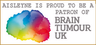Aisleyne is a proud Patron of Brain Tumour UK